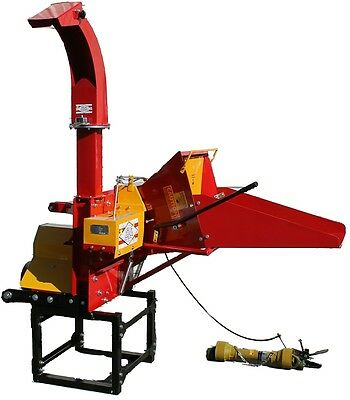 "6"" Wood Chipper/Shredder 300 Degree Rotate & High Discharge"
