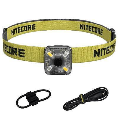 Nitecore NU05 KIT 35 Lumen White & Red USB Rechargeable Headlamp & Safety Light