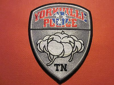 Collectible Tennessee Police Patch Yorkville New