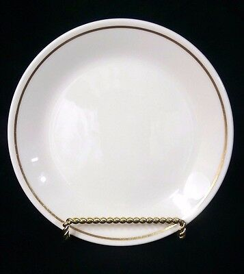 *RARE* Syracuse China Syralite Restaurant Ware Bread & Butter Plate Gold Stripe