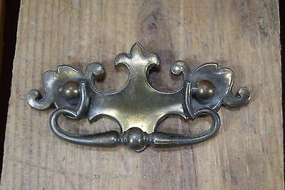 "Antique Brass Drawer Drop Bail Pull Handle Door Knocker 4 3/8"" Style 1588"
