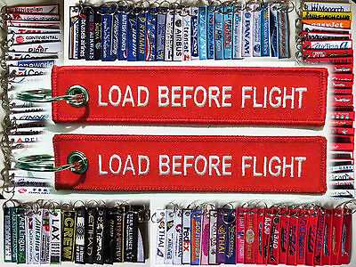 Keyring LOAD BEFORE FLIGHT Remove Before Flight style tag