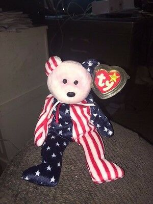 1999 Pink Head Spangle Beanie Baby