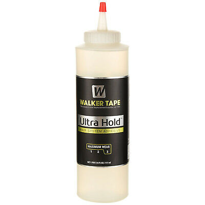 Ultra Hold Lace Wig Adhesive Glue By Walker Tape 16Oz Maximum Wear 1Pint