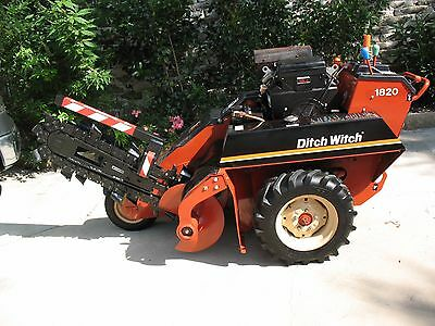 Ditch Witch 1820 Tencher - Steerable Walk Behind Ditcher