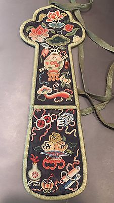 19th Century Chinese fan holder