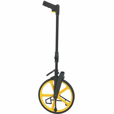 B#Futech Surveyors Distance Measuring Wheel w/ Stand Foldable in Bag RM400 160.4
