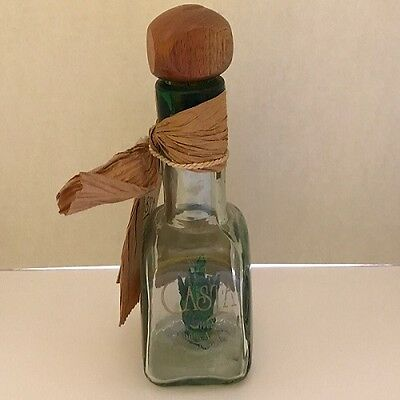 Vintage Liquor Bottle Casta Tequila Anejo Weber Azul Numbered Bottle