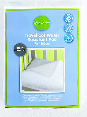 Travel Cot Water Resistant Pad - Pure Comfort 100% - 1394170.,