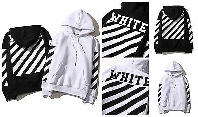 OFF WHITE C/O Virgil Abloh Pyrex Vision Hoodie Jumper Sweater Stripe Street Wear