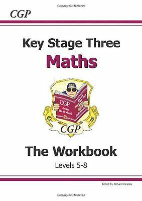 KS3 Maths Workbook - Levels 5-8 By  Richard Parsons