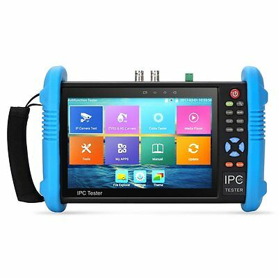 7in IPS Touch Screen IP Camera Tester CVBS Analog Tester With POE/WIFI/HDMI