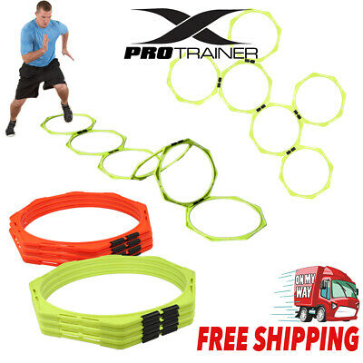 Sports Training Agility Speed Rings Football Soccer Basketball Training Fluro