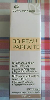 BB Cream Sublimatrice 6in 1 FPS 20 Yves Rocher Medium SALDI -40%