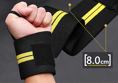 Fitness Wraps  Support Straps Wrist Sports  Exercise  MEN Bandage Weight Lifting