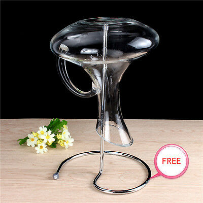 Wine Decanter Holder Drying Stand Drying Rack Stainless Steel NEW