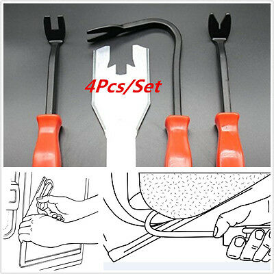 4Pc/Set car door plate angle from the nail card deduction demolition board tool
