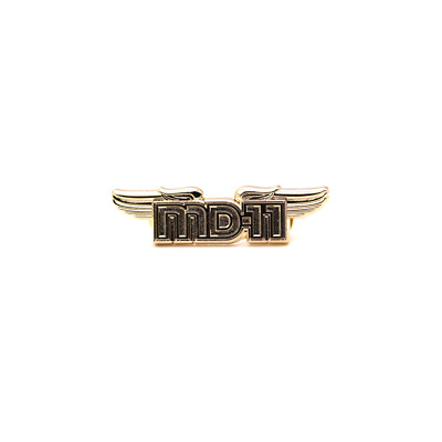 McDonnell Douglas MD-11 MD11 WINGS Pin for pilots & fans Boeing WING