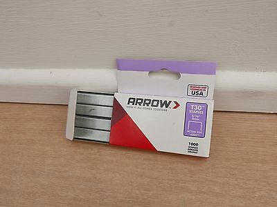 1000 X Arrow T-30 T30 8Mm Staples