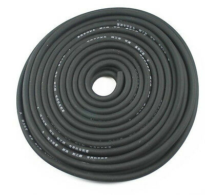 1M black 5mm I/D 8mm O/D Petrol Fuel Hose Gas Oil Tube Line Pipe Motorcycle