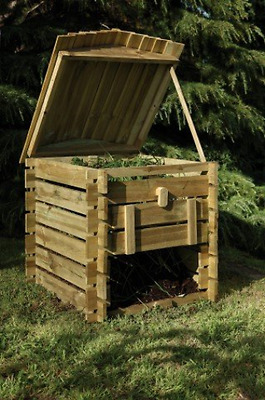Forest Beehive Compost Bin