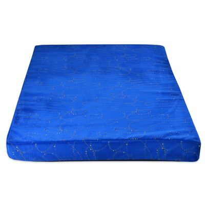 Heavy Duty Blue Dog Beds Very deep dog bed mattress Pet bed available in 3 sizes
