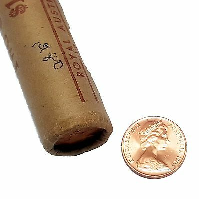 Full Roll of 50 x 2 Cent Uncirculated 1980 coins Royal Australian Mint Wrapped