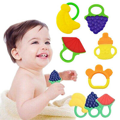 Fruit Teether Baby 1pcs Hot New Bite me Teethers With Chewable Teething Toys