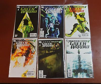 Green Arrow Year One #1-6 complete set NM 1st prints Diggle Jock