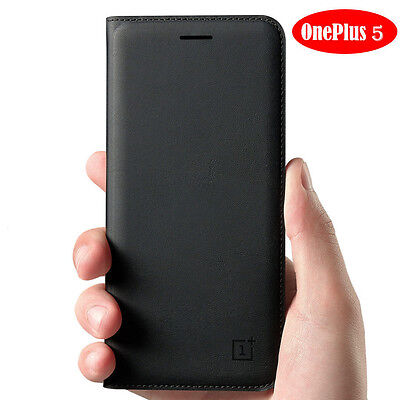Official Flip Leather Smart Wake/Sleep Card Wallet Case Cover For OnePlus 5 3T 3