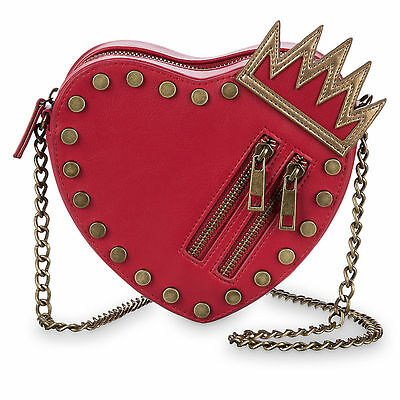 DISNEY Store DESCENDANTS 2 FASHION Bag RED HEART Crossbody Purse NWT