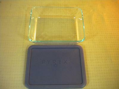 Pyrex 6-Cup 8x6x2 Dish with Lid