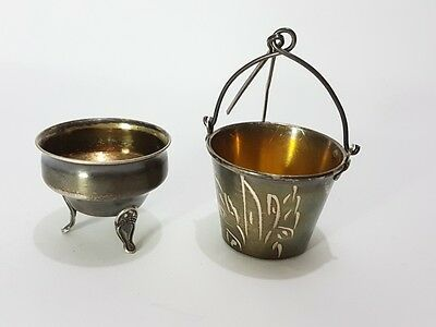 Tea strainer w/holder Russian silver 875 Antique Russia 35.9 g signed