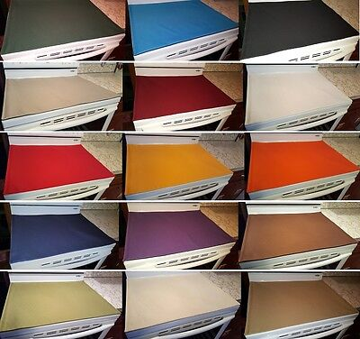 Canvas Cover & Protector for Glass/Ceramic Stove Top / Cooktop (15 Colors)