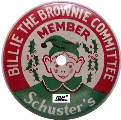 Billie The Brownie (2 Shows) Old Time Radio Mp3 Cd