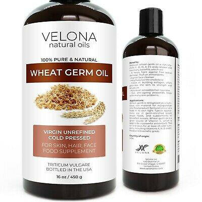 WHEAT GERM OIL 2oz-7lb UNREFINED NATURAL ORGANIC CARRIER COLD PRESSED VIRGIN RAW