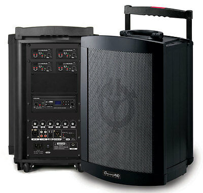 Chiayo Challenger Portable PA System 150 Watt - Bluetooth/SD/USB Player & Mic