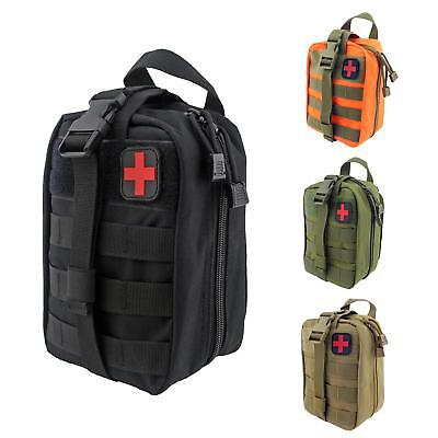 Molle Medical First Aid Kit Bag Outdoor Travel Hiking Climbing Emergency Bag