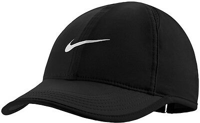 85019a42148 ... italy brand new nike dri fit featherlight cap womens hat black 67eef  a5f8d ...