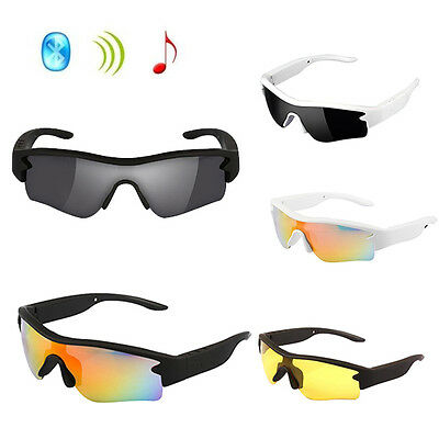 Smart Touch Bluetooth 4.1 Sunglasses Stereo Music Headphone Polarized Glasses