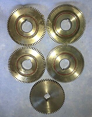 large Gears Broach & Machine  24-37T RH ASP CCH-31852 T-1-11   qty 5 pcs