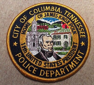 TN City of Columbia Tennessee Police Patch