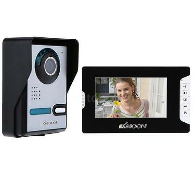 """7"""" LCD Wired Video Door Phone Intercom System IR Camera for Home Security M8Y6"""