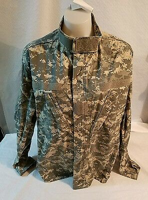 US MILITARY ISSUE BDU ACU  digital  camo SHIRT Large /Regular  hunting #1
