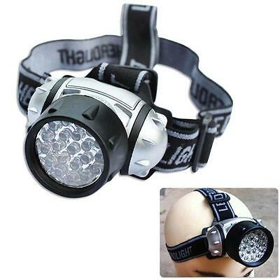 Super Bright Waterproof 21 LED Headlamp Camping Hiking Bike Head Light Torch K&