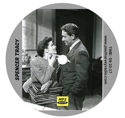 Spencer Tracy Collection (11 Shows) Old Time Radio Mp3 Cd