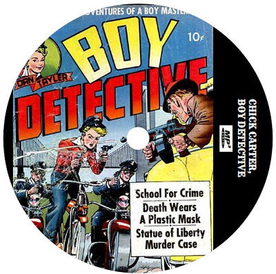 Chick Carter, Boy Detective (3 Shows) Old Time Radio Mp3 Cd
