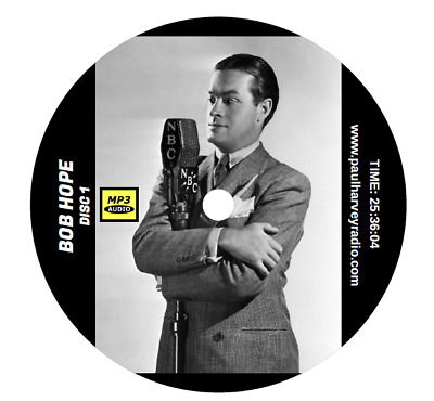 Bob Hope (174 Shows) Otr Mp3 3-Cd's