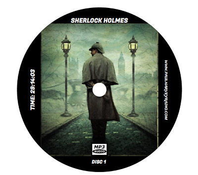 Sherlock Holmes (251 Shows) Old Time Radio Mp3 4 Cd's