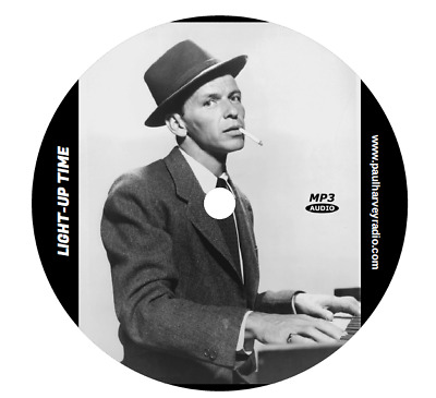 Light-Up Time (With Frank Sinatra) (76 Shows) Old Time Radio Mp3 Cd